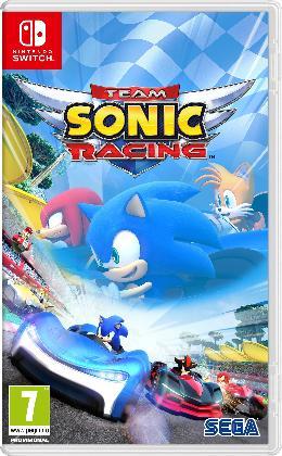 Carátula de Team Sonic Racing para Nintendo Switch
