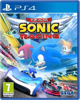 Carátula de Team Sonic Racing para PlayStation 4