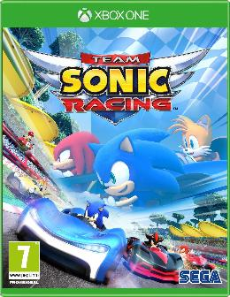 Carátula de Team Sonic Racing para Xbox One