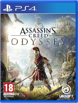 Carátula de Assassin's Creed Odyssey para PlayStation 4