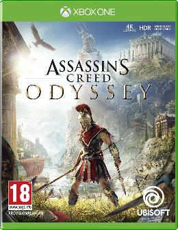 Carátula de Assassin's Creed Odyssey para Xbox One