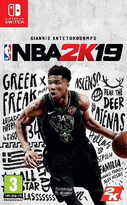 Carátula de NBA 2K19 para Nintendo Switch
