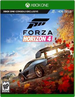 Carátula de Forza Horizon 4 para Xbox One