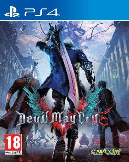 Carátula de Devil May Cry 5 para PlayStation 4