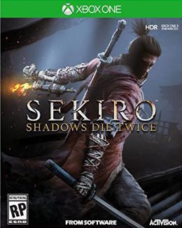 Carátula de Sekiro: Shadows Die Twice para Xbox One