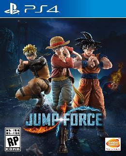 Carátula o portada EEUU del juego Jump Force para PlayStation 4