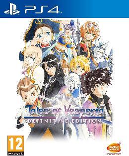 Carátula de Tales of Vesperia Definitive Edition para PlayStation 4