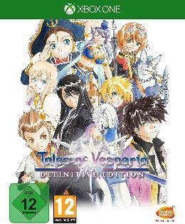Carátula de Tales of Vesperia Definitive Edition para Xbox One