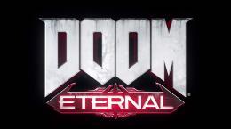 Carátula o portada Logo Oficial del juego Doom Eternal para PlayStation 4