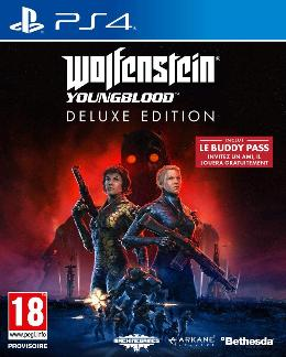 Carátula de Wolfenstein: Youngblood para PlayStation 4