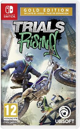 Carátula de Trials Rising para Nintendo Switch