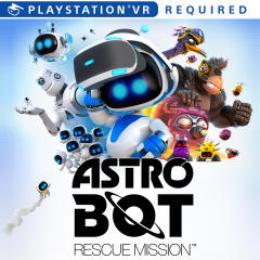 Carátula de Astro Bot Rescue Mission para PlayStation 4