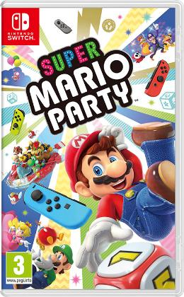 Carátula de Super Mario Party para Nintendo Switch