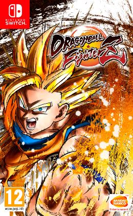 Carátula de Dragon Ball FighterZ para Nintendo Switch
