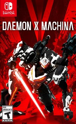 Carátula de Daemon x Machina para Nintendo Switch