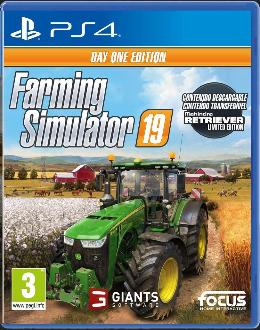Carátula de Farming Simulator 19 para PlayStation 4
