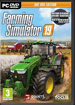 Carátula de Farming Simulator 19 para PC