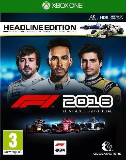 Carátula de F1 2018 para Xbox One