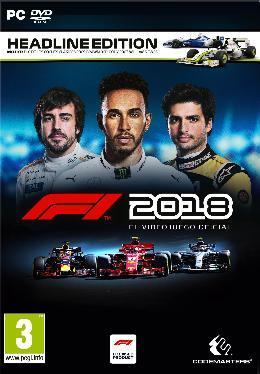 Carátula de F1 2018 para PC