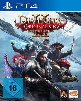 Carátula de Divinity: Original Sin II - Definitive Edition para PlayStation 4