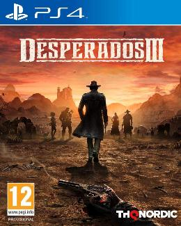Carátula de Desperados III para PlayStation 4