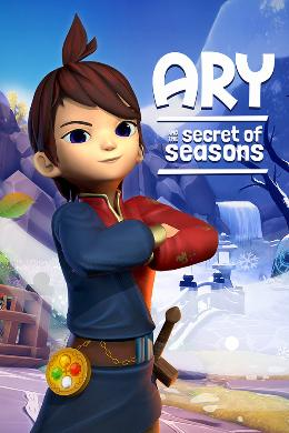 Carátula de Ary and the Secret of Seasons para PlayStation 4