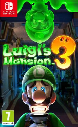 Carátula de Luigi's Mansion 3 para Nintendo Switch