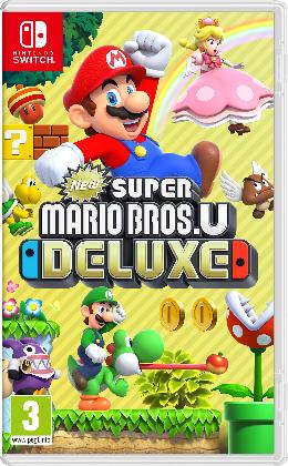 Carátula de New Super Mario Bros. U Deluxe para Nintendo Switch