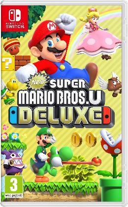 Carátula de New Super Mario Bros. U Deluxe