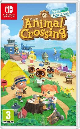 Carátula de Animal Crossing: New Horizons