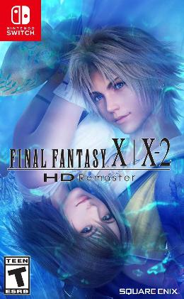 Carátula de Final Fantasy X/X-2: HD Remaster para Nintendo Switch