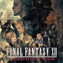 Carátula de Final Fantasy XII: The Zodiac Age para Nintendo Switch