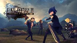 Carátula de Final Fantasy XV Pocket Edition para Nintendo Switch