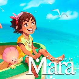 Carátula de Summer in Mara para Nintendo Switch