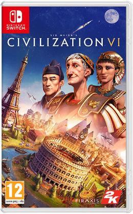 Carátula de Sid Meier's Civilization VI para Nintendo Switch