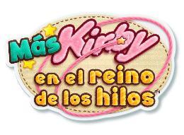 Carátula de Más Kirby en el reino de los hilos para Nintendo 3DS
