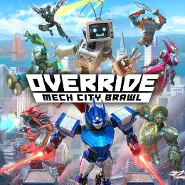 Carátula de Override: Mech City Brawl para PlayStation 4