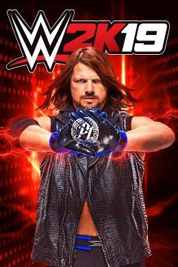 Carátula de WWE 2K19 para PlayStation 4
