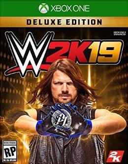 Carátula de WWE 2K19 para Xbox One