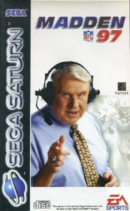Carátula o portada Europea del juego Madden NFL '97 para Saturn