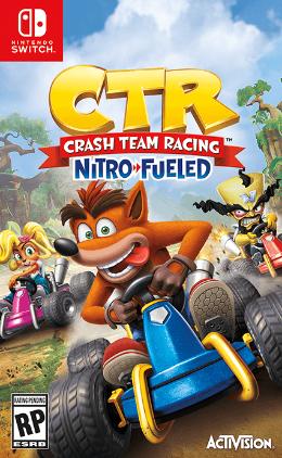 Carátula de Crash Team Racing Nitro-Fueled para Nintendo Switch