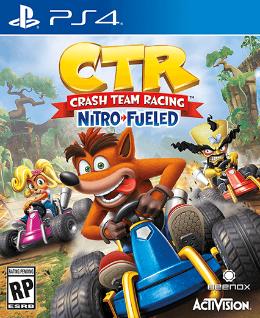 Carátula de Crash Team Racing Nitro-Fueled para PlayStation 4