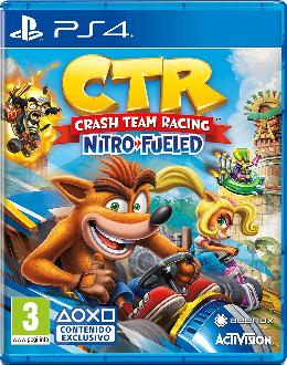 Carátula de Crash Team Racing Nitro-Fueled