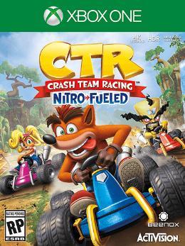 Carátula de Crash Team Racing Nitro-Fueled para Xbox One