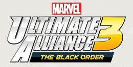 Carátula o portada Logo Oficial del juego Marvel Ultimate Alliance 3: The Black Order para Nintendo Switch