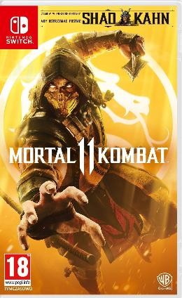 Carátula de Mortal Kombat 11 para Nintendo Switch