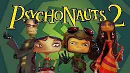 Carátula o portada Logo Oficial del juego Psychonauts 2 para PlayStation 4