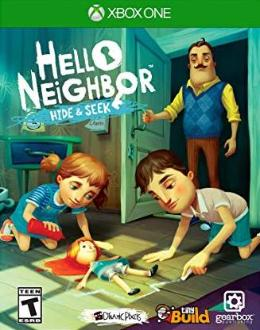 Carátula o portada EEUU del juego Hello Neighbor: Hide and Seek para Xbox One