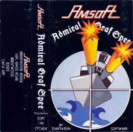 Carátula de Admiral Graf Spee para Amstrad