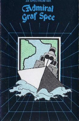 Carátula o portada Inglesa del juego Admiral Graf Spee para Spectrum